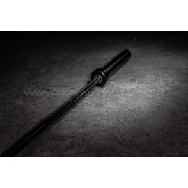 All black barbell 15kg