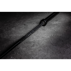 All black barbell 20kg