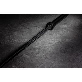 All black barbell 20kg