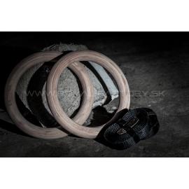 Drevené gymnastické kruhy